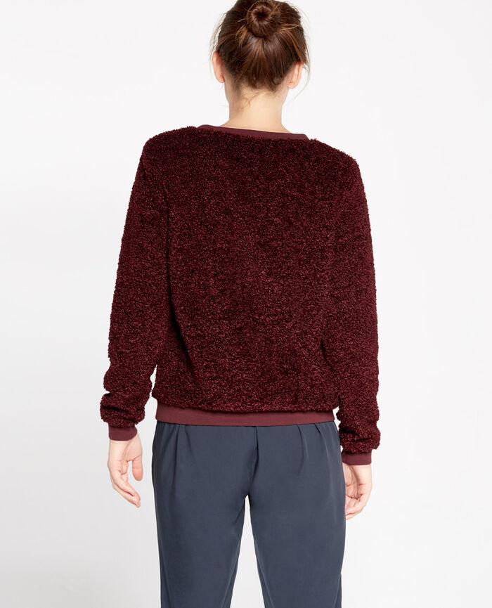 Sweater Royal chocolate Fluffy