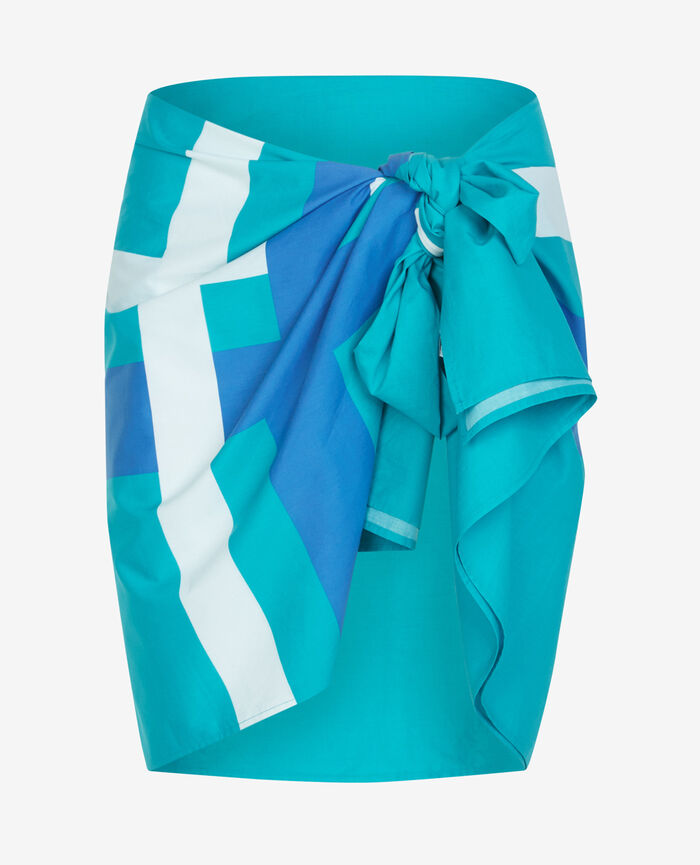 Sarong Turquoise Princesse tam.tam x uniqlo