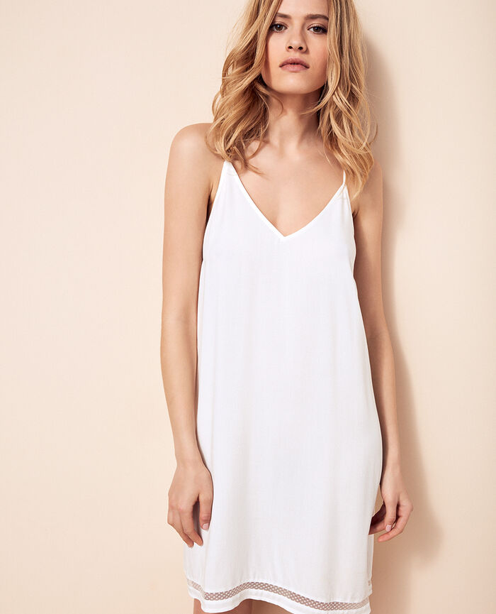 Short nightie Ivory Desinvolte