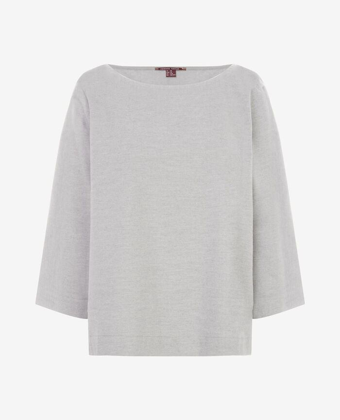 SOFT Gris chiné Top