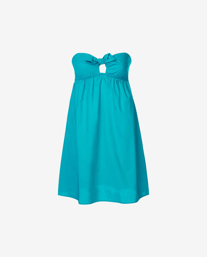 Dress Turquoise Princesse tam.tam x uniqlo