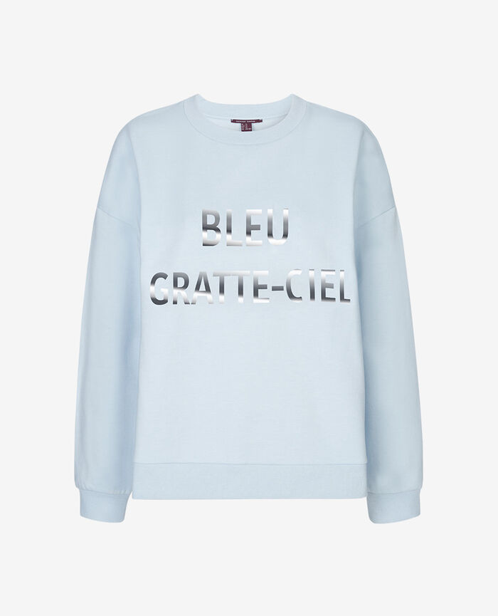 SWEAT COLLECTION Skyscraper blue Sweater