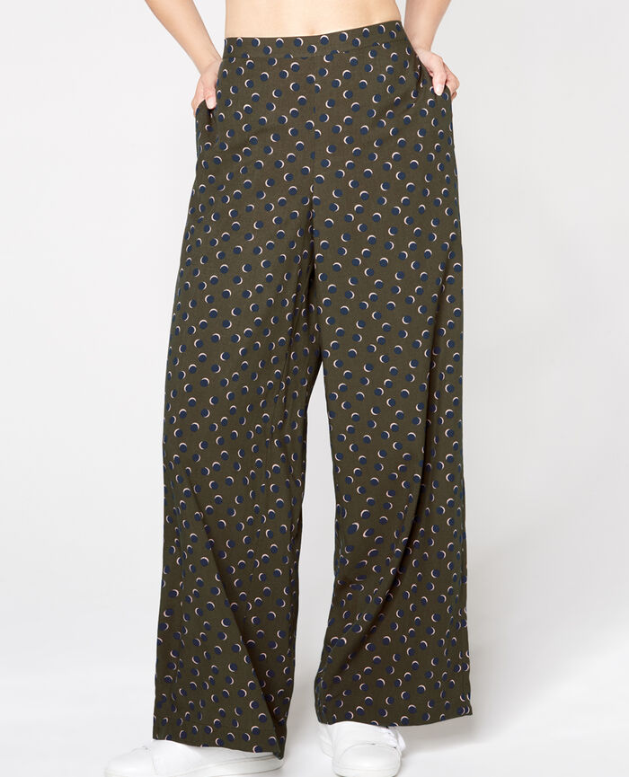 HEAVEN Army green Wide pants