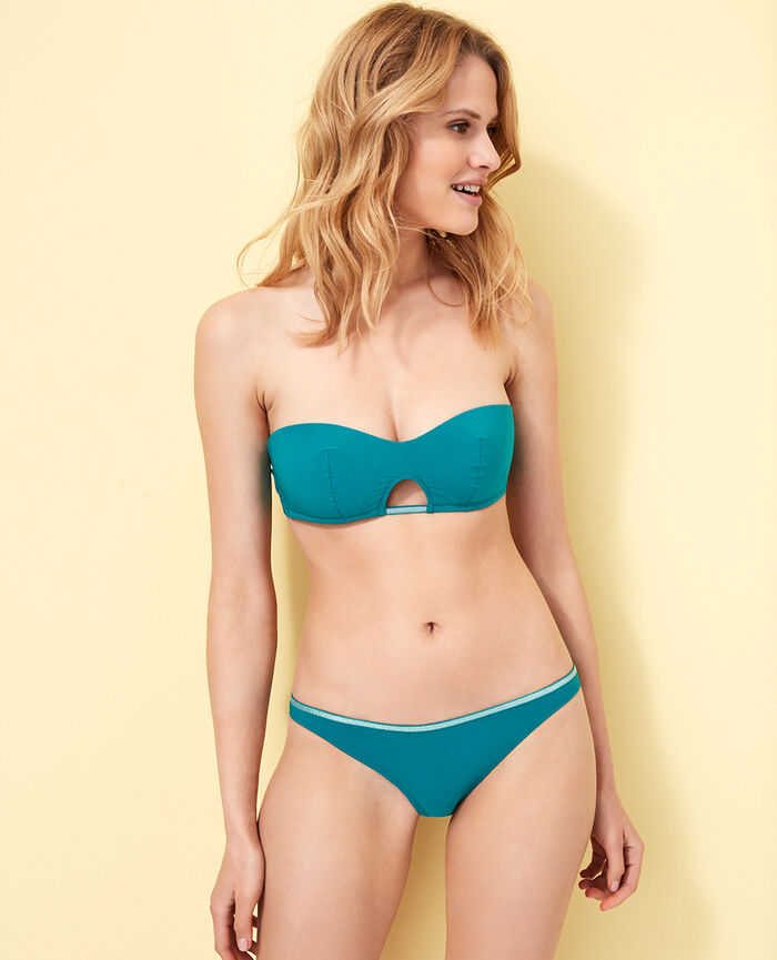 High-cut bikini briefs Pigment green Ohlala
