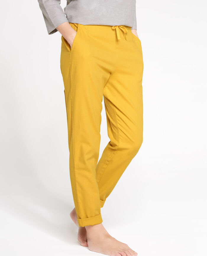 SOFT Tramway yellow Harem pants