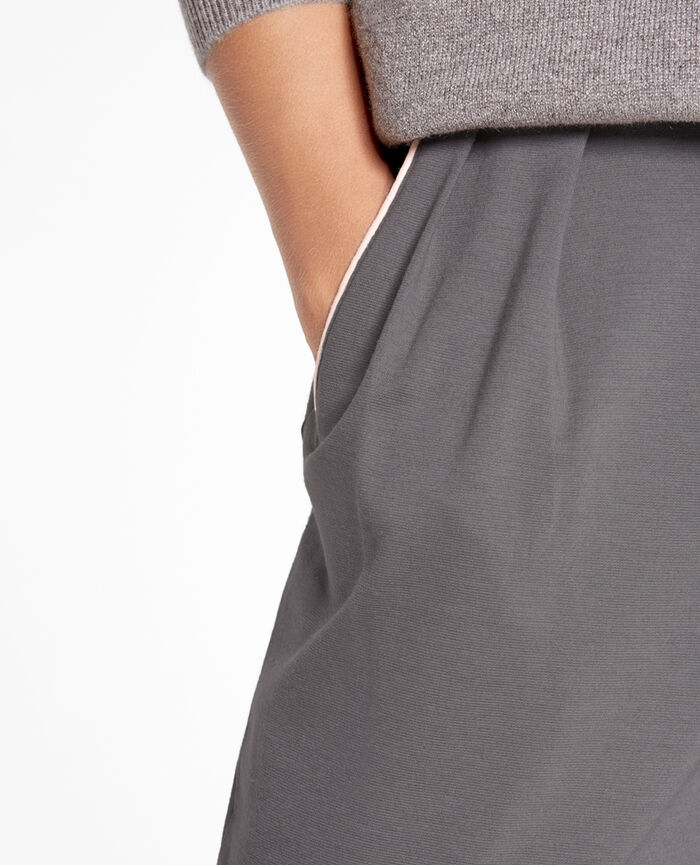 NEPTUNE Steel grey Carrot pants