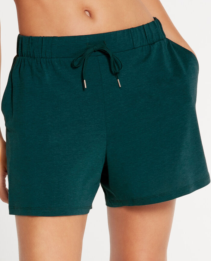 EMY Midnight green Shorts
