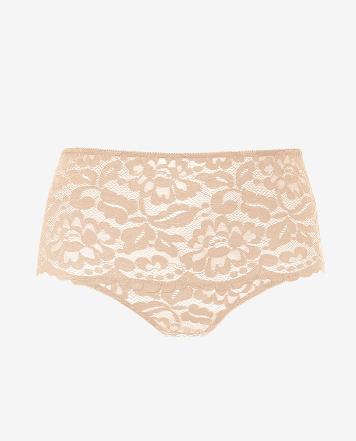 High-waisted briefs Glace rose Angelina