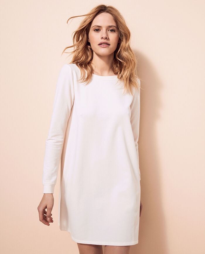 Tunique Blanc rosé Air loungewear