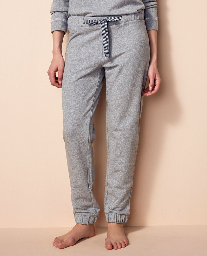 Jogging pants Flecked grey Funny