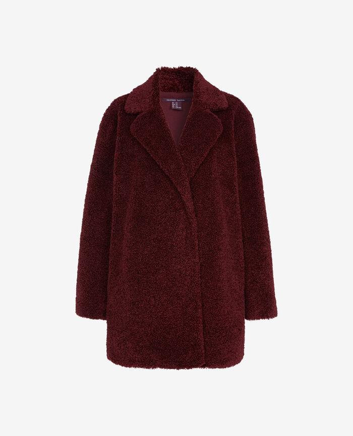 Medium-length jacket Royal chocolate Fluffy