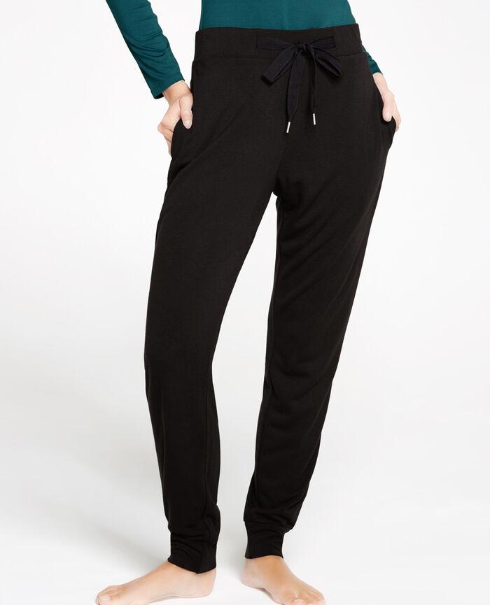 LOUNGEWEAR Black Jogging pants