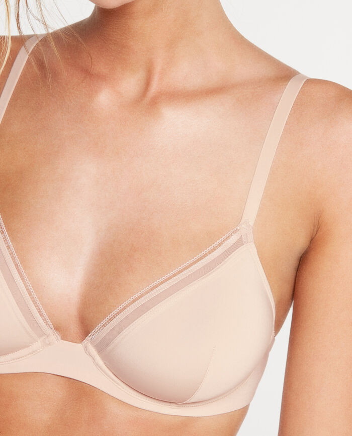 MAKE UP Powder Mini-wire triangle bra