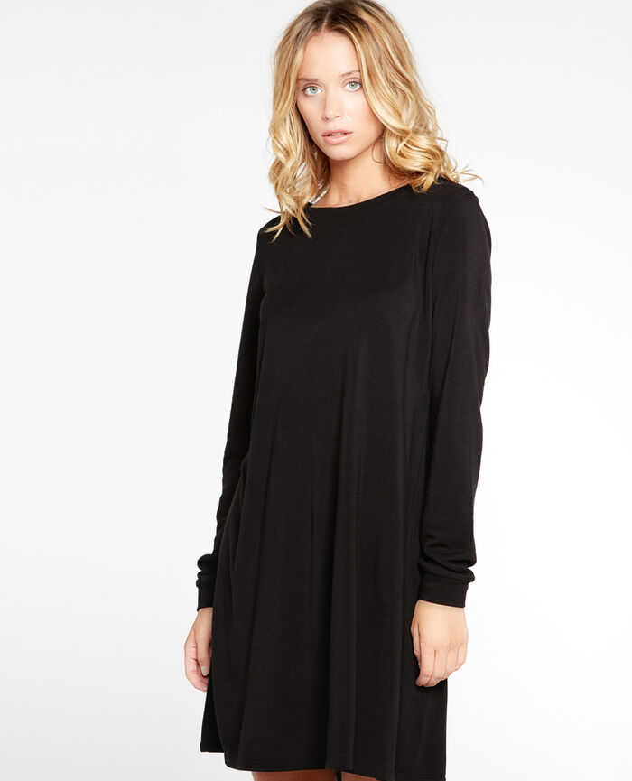 LOUNGEWEAR Black Tunic