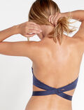 MAKE UP Navy Nude back strap