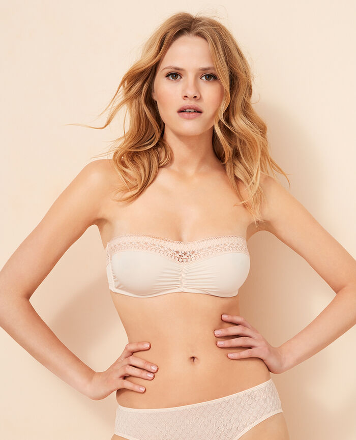 Strapless bra Tan pink Freedom