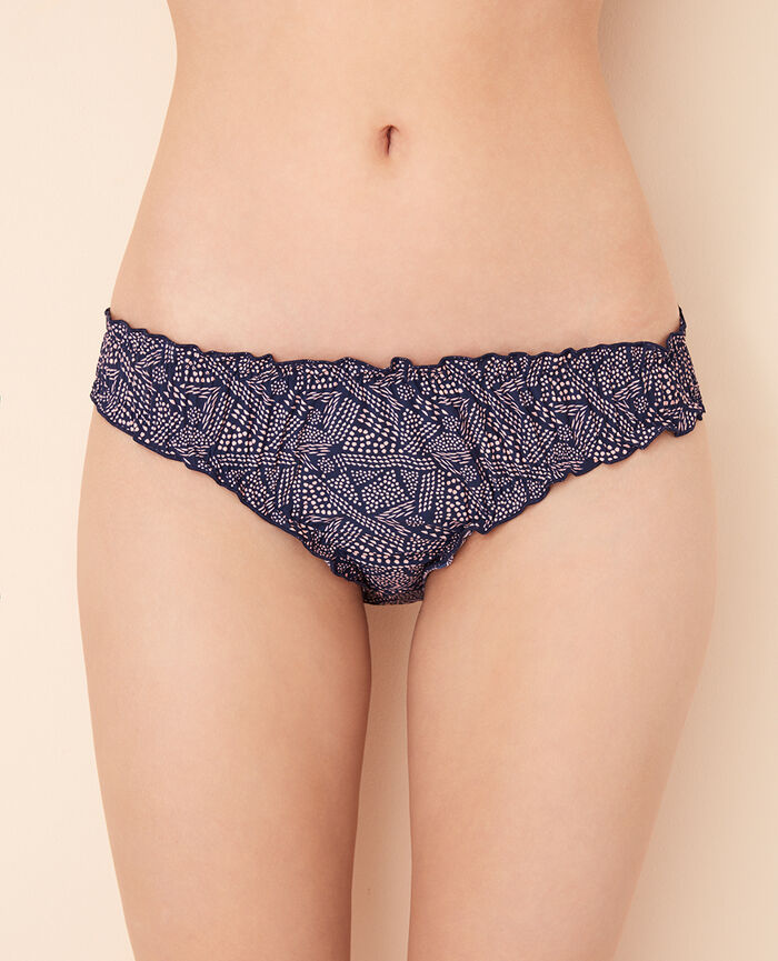 Printed briefs Ethnic blue Take away