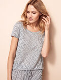 T-shirt manches courtes Gris chiné Dot