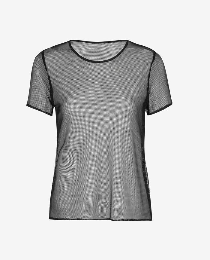 T-shirt Noir Control