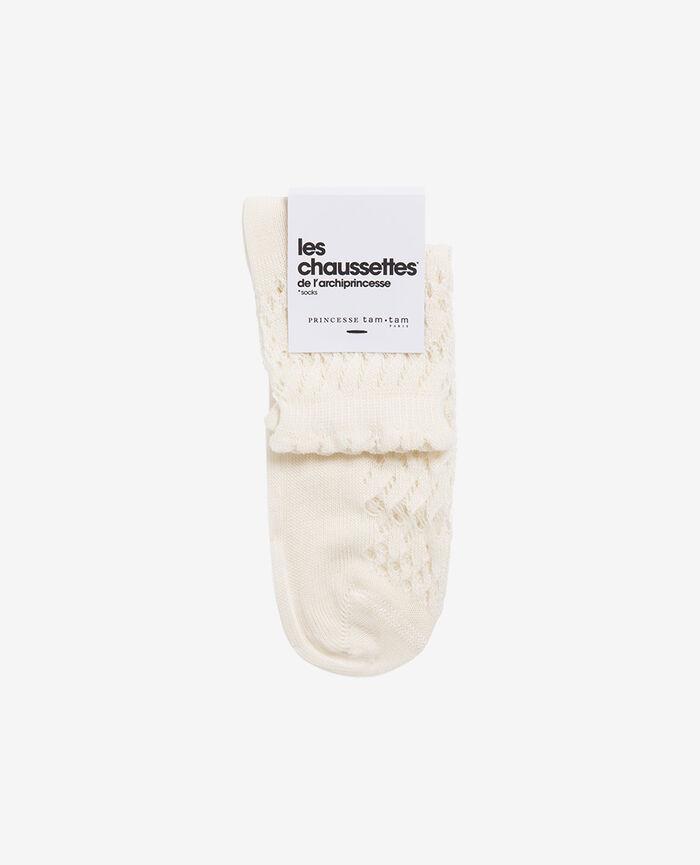 Socks Ivory Kawai