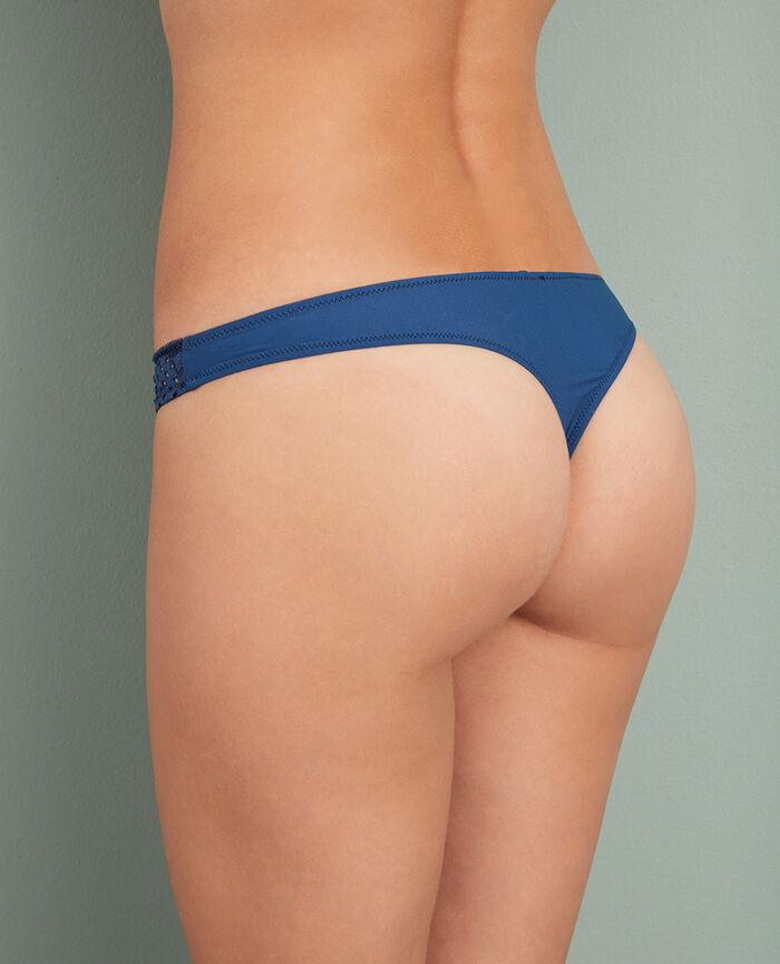Thong Jersey blue Metropolitan