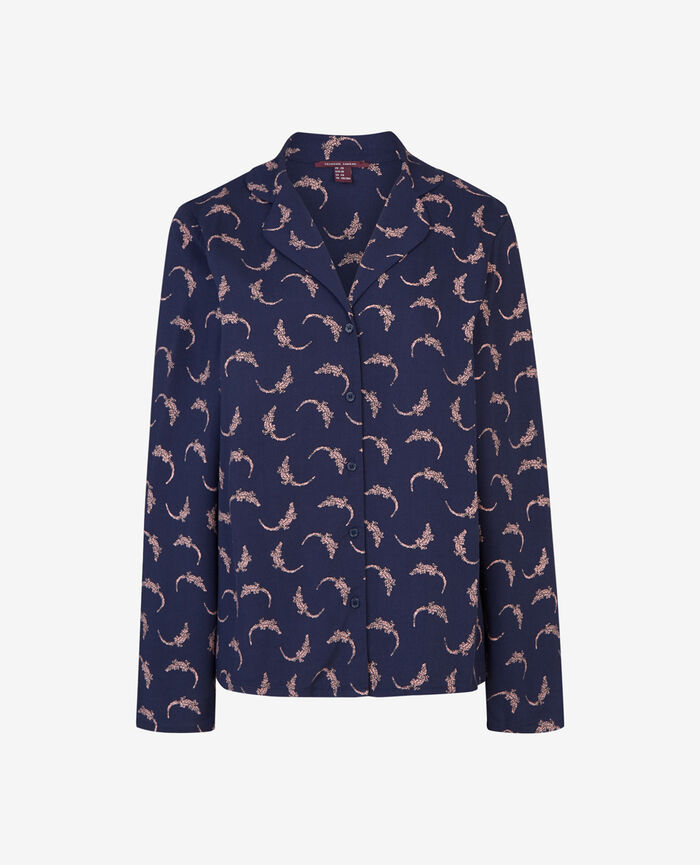 Jacket Navy Croco