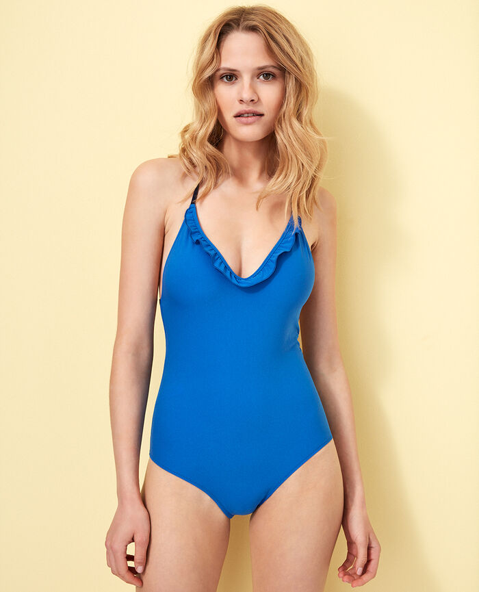 Swimsuit Samba blue Bomba