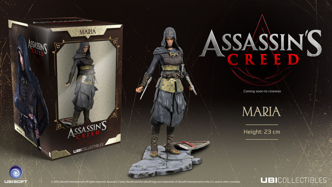 Image result for Ubisoft Assassin's Creed Movie Maria Figurine Statue