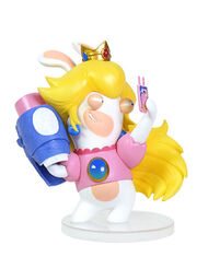 Mario + Rabbids Kingdom Battle: Rabbid Peach 3'' Figurine, , large