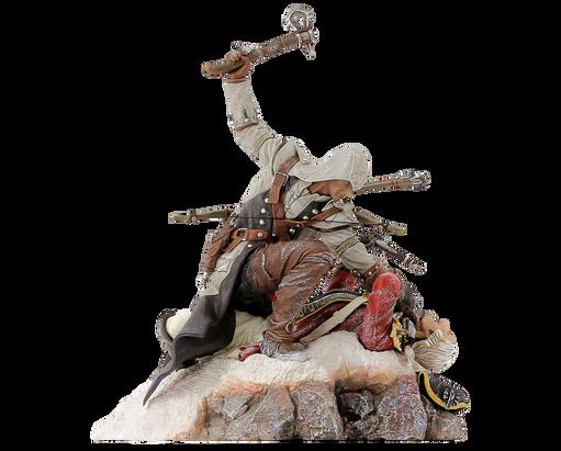 Assassin's Creed III - Figurine Connor - Le dernier souffle, , large