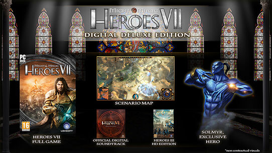 Might and Magic Heroes 7 Deluxe Edition, , large