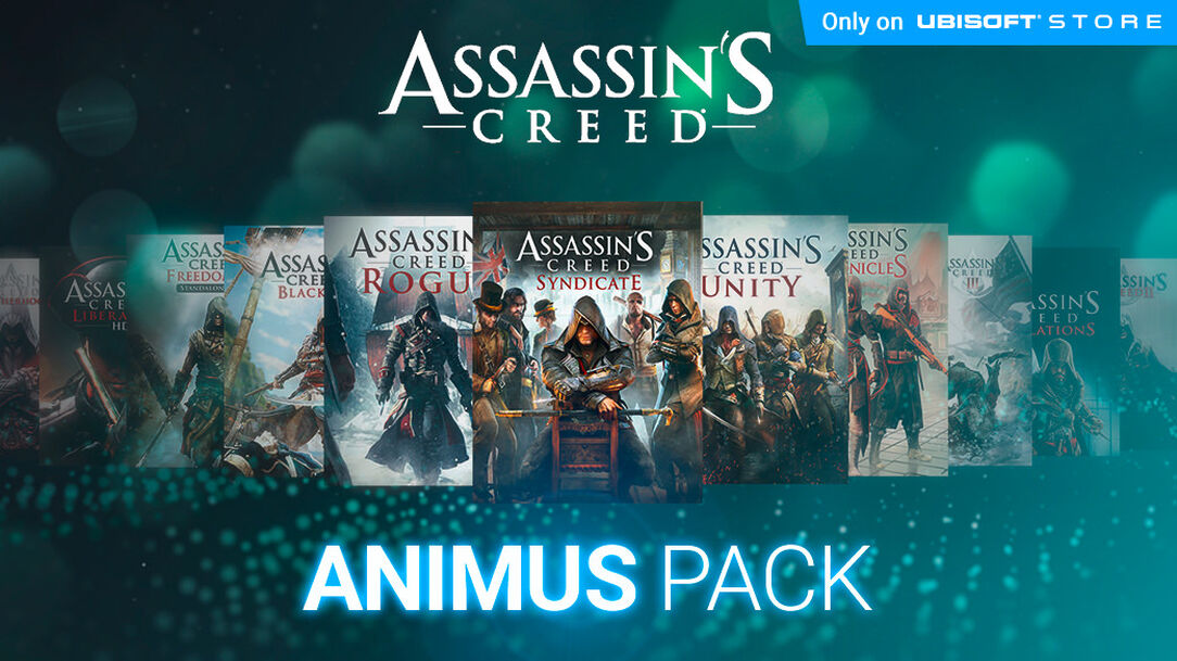 Buy assassin's creed animus pack.