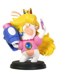 Mario + Rabbids Kingdom Battle: Rabbid Peach 6'' Figurine, , large