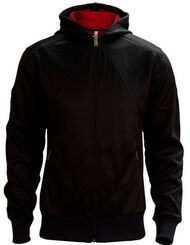 Desmond Miles Hoodie - Black With Eagle, , large