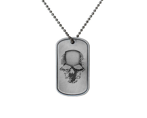 Ghost Recon Wildlands Skull Necklace, , large