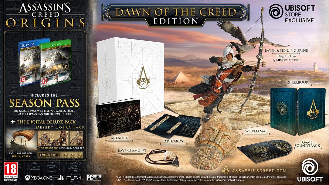 Výsledek obrázku pro assassin's creed origins collector's edition
