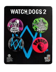 Watch_Dogs 2 - Pins Set 2, , large
