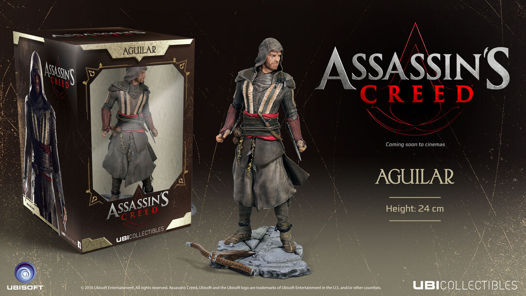 Image result for Ubisoft Assassin's Creed Movie Aguilar Figurine Statue