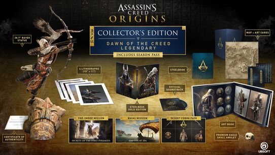 Assassin's Creed® Origins Dawn Of The Creed Legendary Edition, , large