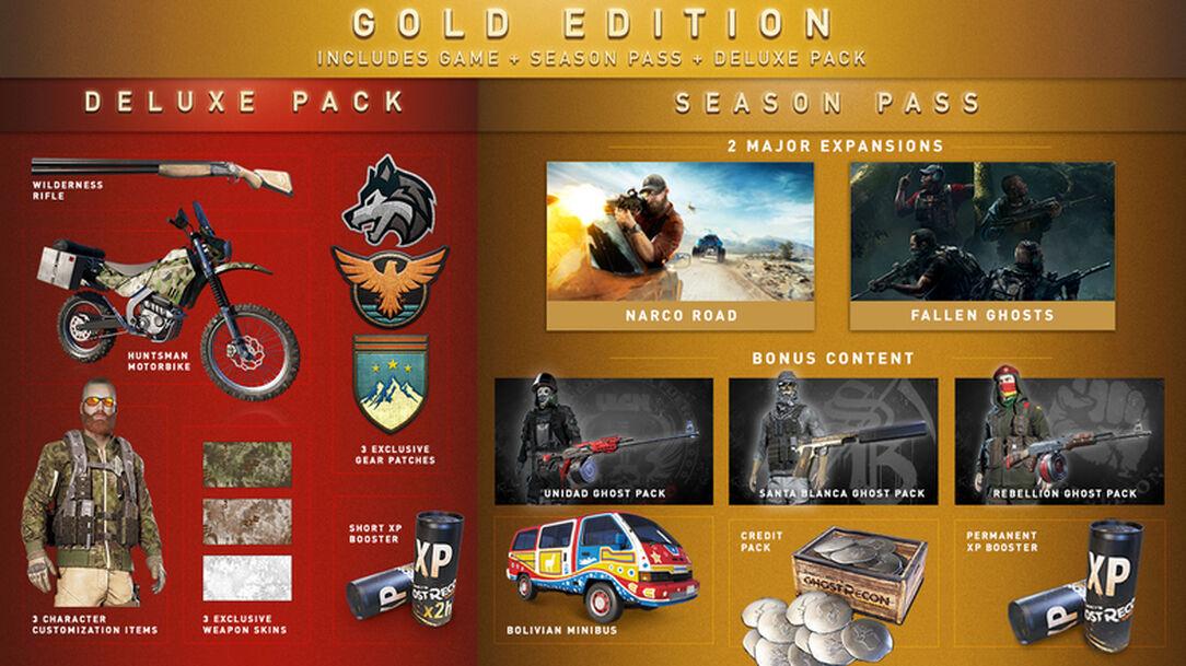 Tom Clancys Ghost Recon Wildlands Gold