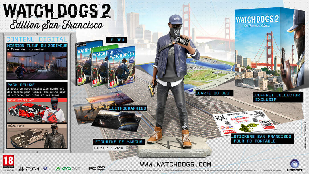 Watch Dogs 2 - Editions Collector 574d3f4688a7e339118b4567-1