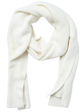 SIMPLE, KNIT SCARF