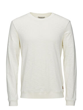 LIGHTWEIGHT CREW NECK SWEATSHIRT