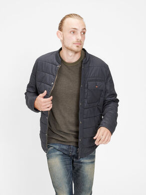 WAXED QUILTED JACKET