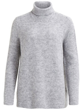 ROLLNECK - KNITTED TOP