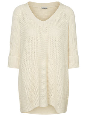 LOOSE FIT KNITTED PULLOVER
