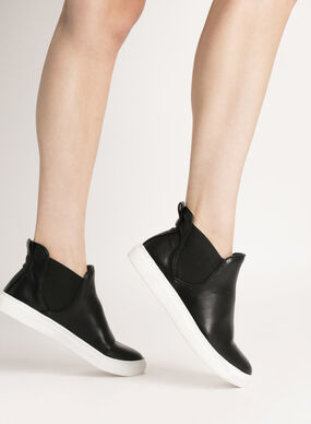 IMITATED LEATHER BOOTS