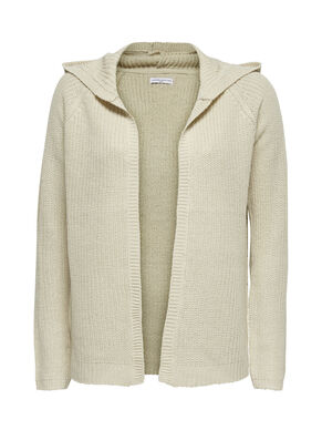 SHORT KNITTED CARDIGAN