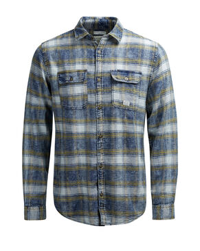 CHECK UTILITY LONG SLEEVED SHIRT