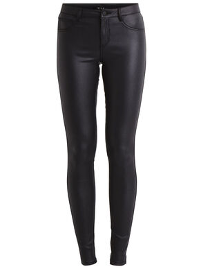 VICOMMIT - COATED SKINNY FIT JEANS